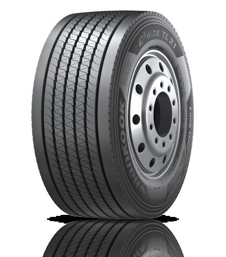 Hankook e3 WiDE TL21 trailer tire. - Photo: Hankook Tire