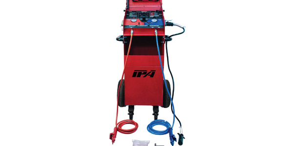 Innovative Products of America's #5700A Alpha Mutt with ABS is a complete diagnostic trailer...