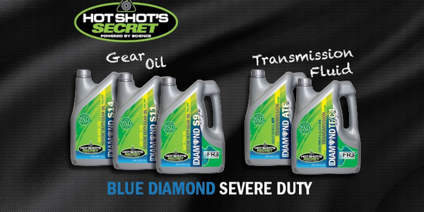 Blue Diamond Severe Duty Transmission Fluids and Gear Oils are designed for all vehicles that...