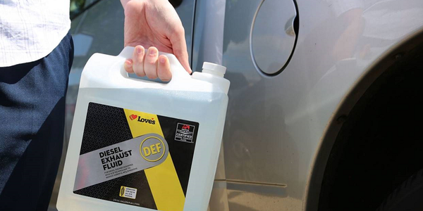 Loves Travel Stops is now offering its own private label diesel exhaust fluid.