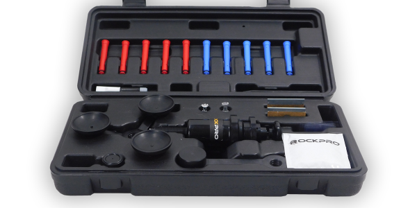 The RockPro Windshield Commercial Repair Kit comes with the necessary tools to repair small...