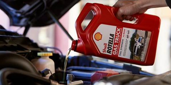 Shell Rotella Gas Truck full synthetic engine oil is designed to offer protection for towing and...