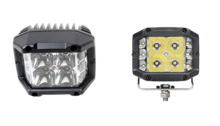 Superior Signals expanded their LED worklight selection to include the SY2X140S and SY3X140S featuring a 140-degree light dispersion.