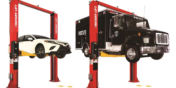 Rotary Lift has launched two high capacity two-post lifts with the SPO16 and SPO20 lifts, both...