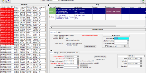 McCleod Software's DententionManagement module.
