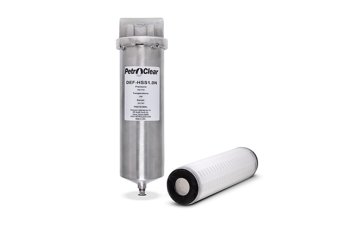 PetroClear has introduced new diesel exhaust fluid dispenser filtration products designed to help prevent retail and commercial fuel site operators from distributing contaminated DEF.  - Photo courtesy PetroClear