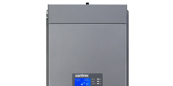 The Freedom X 3000 sine wave inverter is rated at 3,000 watts.