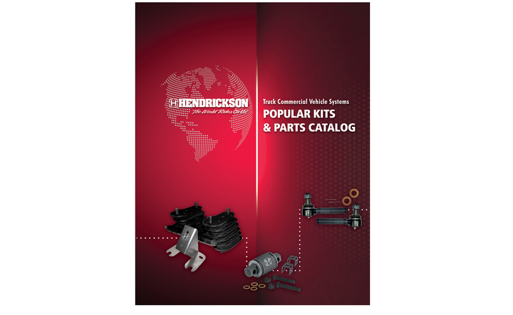 Hendrickson updated its Truck Suspension Systems Parts Catalog and it includes the full line of front and rear suspension kits and service parts.  - Image courtesy Hendrickson