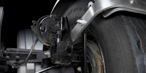 Minimizer has developed a new steerable axle fender bracket kit for use with a Watson Chalin...