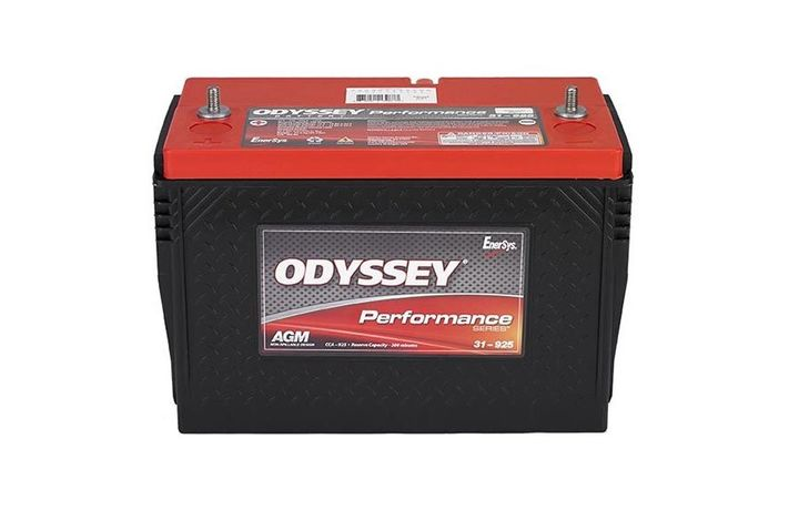 JIT Truck Parts has added Odyssey Absorbed Glass Mat batteries to its product inventory.  - Photo via Odyssey