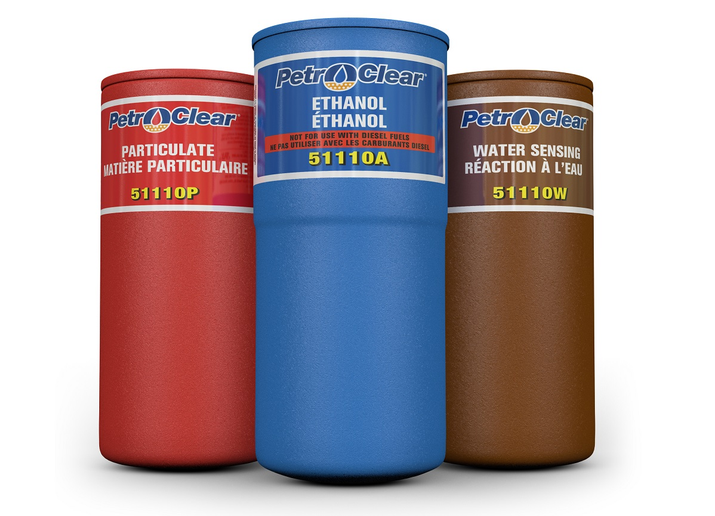 PetroClear's 511 Series of high-volume, extended-life spin-on dispenser filters are now UL Recognized Components in the U.S. and Canada.  - Photo courtesy PetroClear