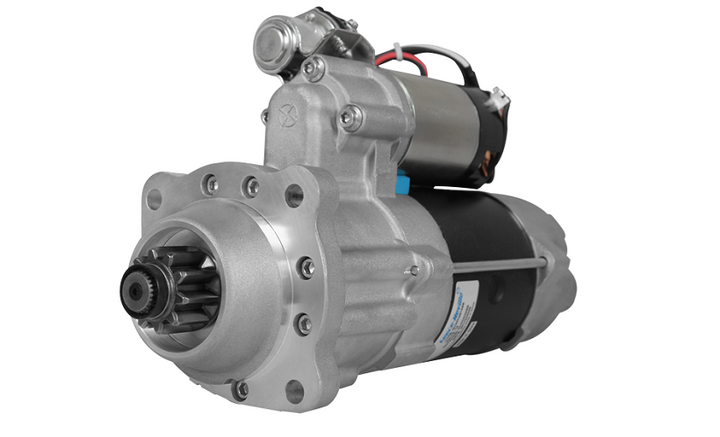 Leece-Neville's PowerPro 5 12V Starters are available for up to 10L diesel engines.  - Photo courtesy Leece-Neville