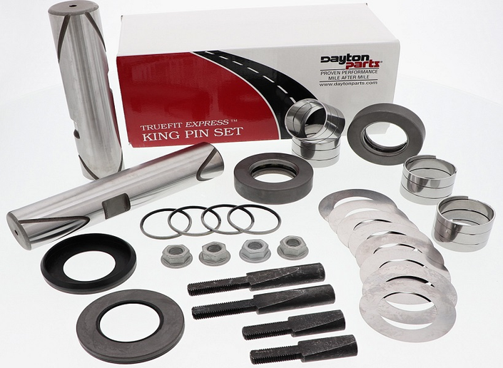 Dayton Part's has launched a line of spiral king pin kits called Truefit Express.