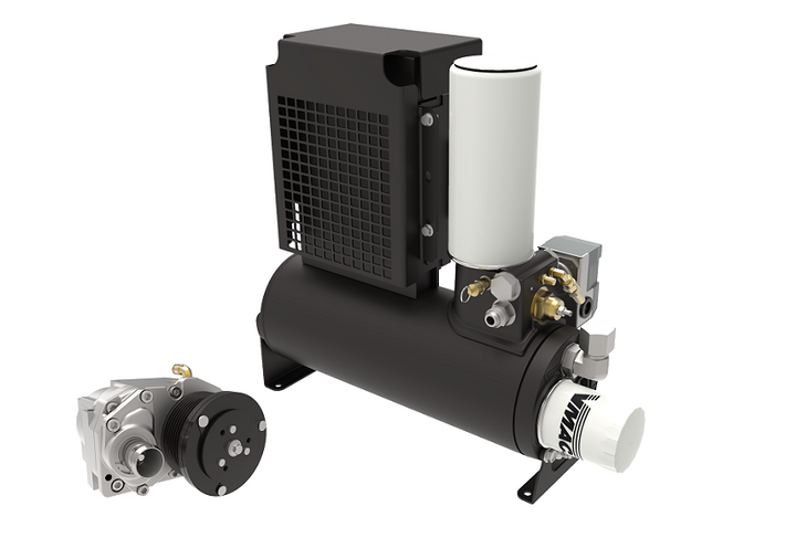 VMAC has released Underhood air compressors and direct-transmission mounted PTO-Driven systems for 2019 trucks and vans.