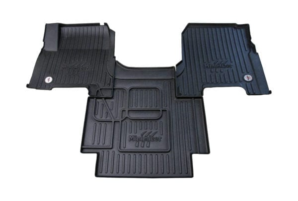 Minimizer has released Custom Molded Floor Mats designed to fit Volvo Trucks new line of commercial vehicles.  -
