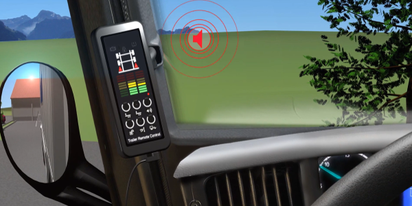 Wabco has introduced TailGuard for commercial trailers, a rear blind spot detection system with...