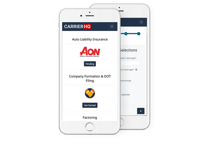 Aon has launched a monthly motor carrier insurance program for fleets with 20 or fewer vehicles that uses data collected from electronic logging devices to determine rates.