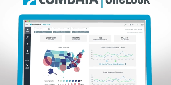 Comdata has launched Comdata OneLook, a business intelligence solution that provides fleet...