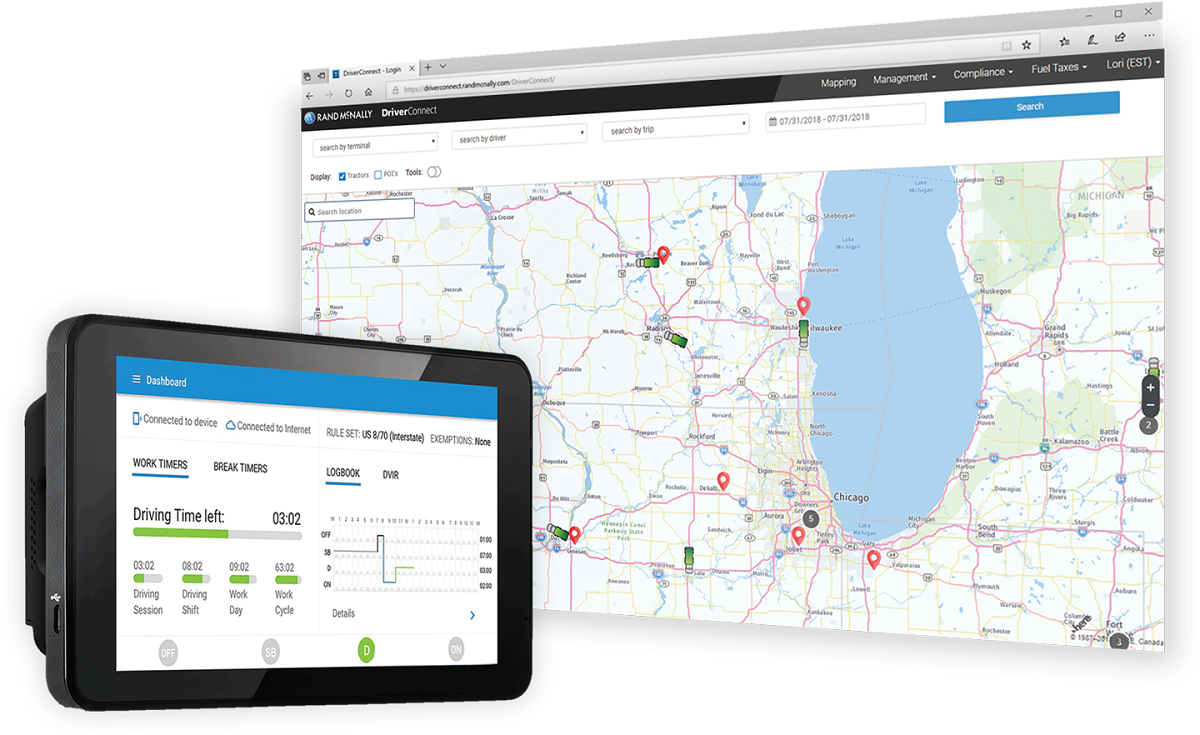 Rand McNally Expands DriverConnect Platform With Last-Mile Services