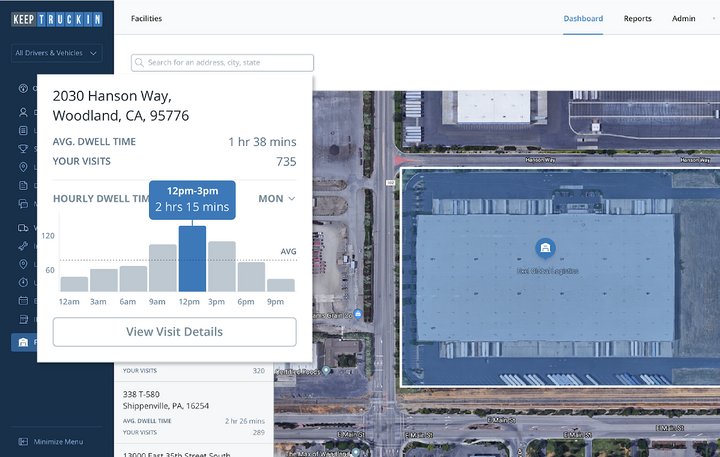 KeepTruckin announced the public launch of the Facility Insights tool, designed to help carriers know exactly what to expect at a shipper and consignee facility before accepting a load.
