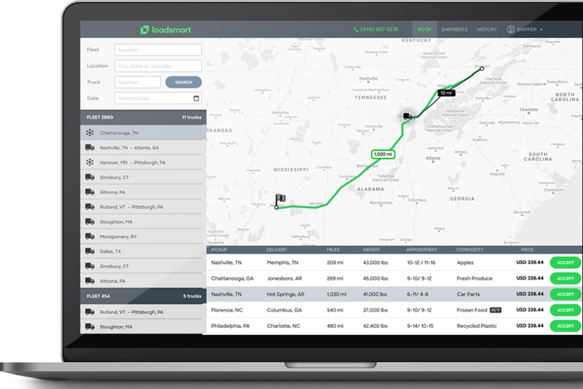 Freight technology company Loadsmart has launched the Smart Match tool, which provides carriers...