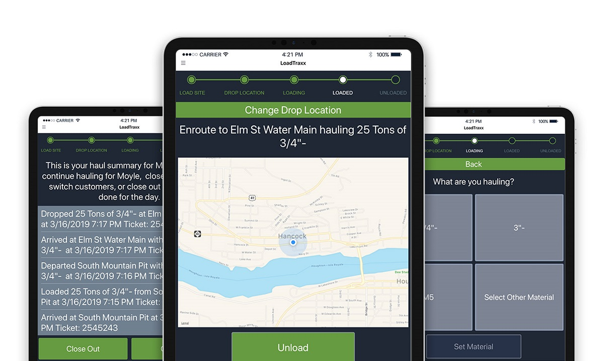 LoadTraxx App Helps Short Haul Fleets Track Loads and Billing