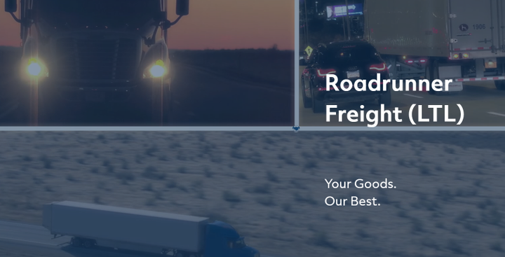 Roadrunner Freight has introduced an integrated tool to give less-than-truckload shippers instant access to volume spot quotes.  - Screenshot via Roadrunner Freight