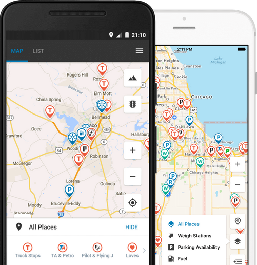 Trucker Path has launched a new, truck-route specific navigation program. - Photo: Trucker Path