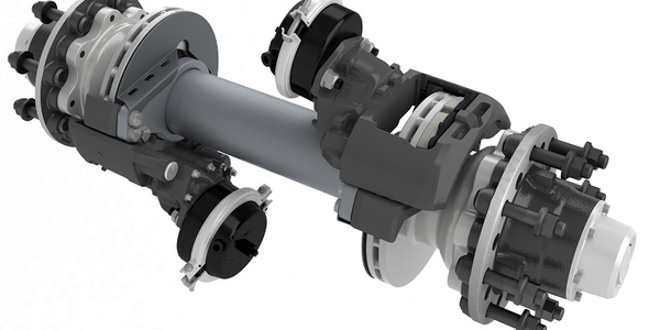 Ridewell Suspensions has released a new series of short track axles that can be configured with...