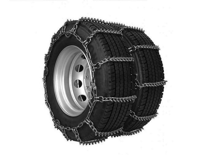 Ancra Cargo's X-Treme Grip Tire Chains are designed to improve traction in severe weather conditions.