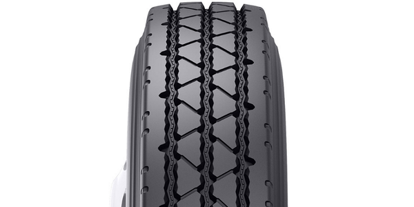 The Bandag BRSS is a retread designed for on/off road mixed use.