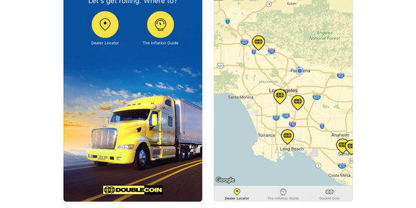 Double Coin has released a mobile app to help users find dealer locations and provides other...