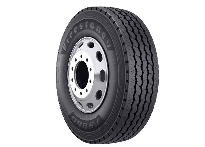 The Firestone FS860 all-position radial tire designed for the waste industry is now available in market.  - Photo courtesy Bridgestone