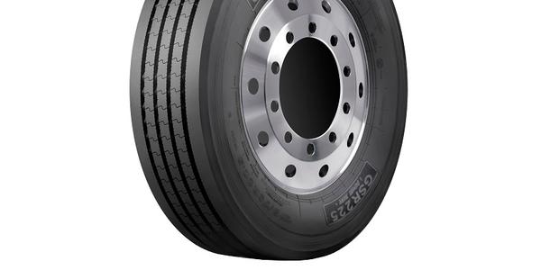 The Giti GSR225 (pictured) is one of four commercial tires Giti Tire introduced for urban duty.
