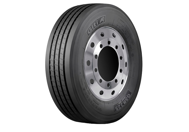 The Giti GSR225 (pictured) is one of four commercial tires Giti Tire introduced for urban duty.  - Photo: Giti Tire
