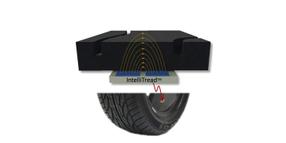 IntelliTread Sensor Measures Tire Tread Wear