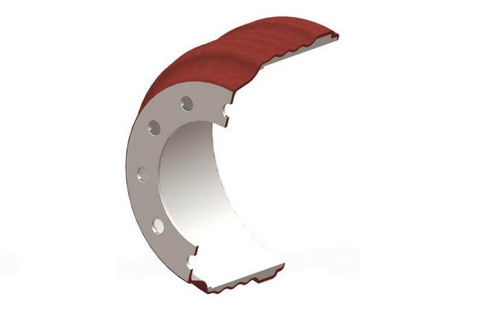 DuraBrake is offering a lightweight steel shell brake drum, designed for greater strength and reduced weight.  - Photo courtesy DuraBrake