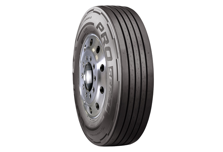 Cooper Tire has launched a new long haul steer tire as part of its Pro Series product line.  - Photo courtesy Cooper Tire