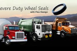 RevHD Wheel Seals Designed for Off-Road Vocational Applications