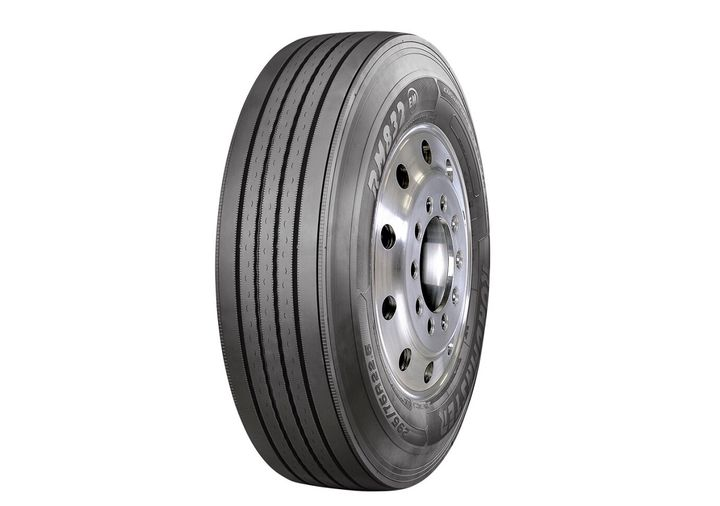 Cooper Tire is offering the Roadmaster RM832 EM steer tire, a SmartWay verified tire designed for fuel efficiency and durability.  - Photo courtesy Cooper Tire