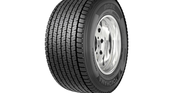 Yokohama is offering the 902L ultra wide base line haul/regional drive tire in a 455/55R22.5.