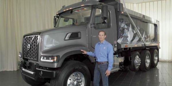 Volvo VHD vocational truck video walkaround