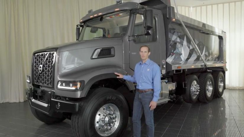 Volvo VHD vocational truck video walkaround