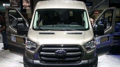 Walkaround of Ford's 2020 Transit Van [Video]