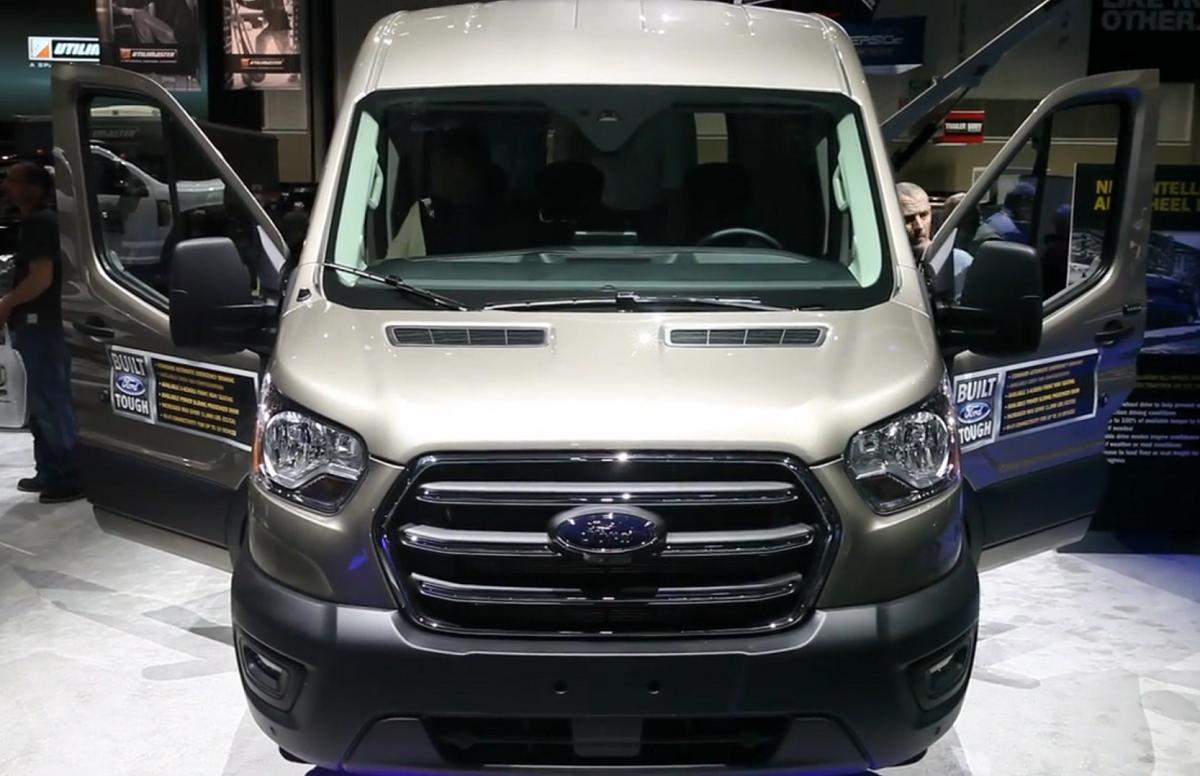 Walkaround of Ford's 2020 Transit Van [Video]