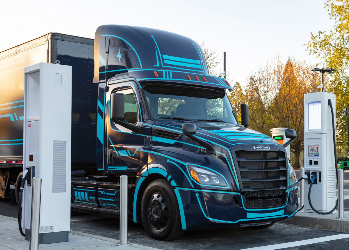 Electric Island Opens for Truck Charging [Video]