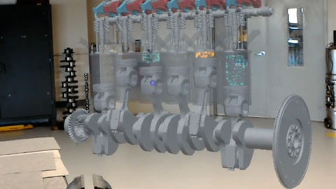 Augmented Reality Tool Helps Train Diesel Techs [Video]