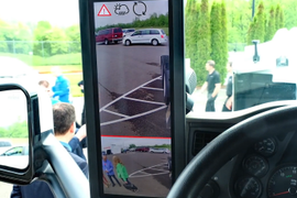 On the Spot: The Bosch E-Mirror Video Mirror System [Video]