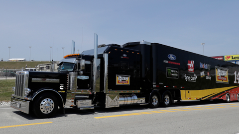 Nascar's Clint Bowyer's Special Video Message for Truckers