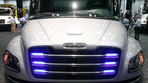 On the Spot: Freightliner eM2 Electric Truck Walk-Around [Video]